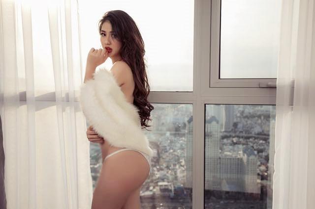 Thái Mỹ Linh - nàng hậu tuyên ngôn cực chất về nạn gạ tình showbiz khiến cô quá shock vì sợ hãi-7