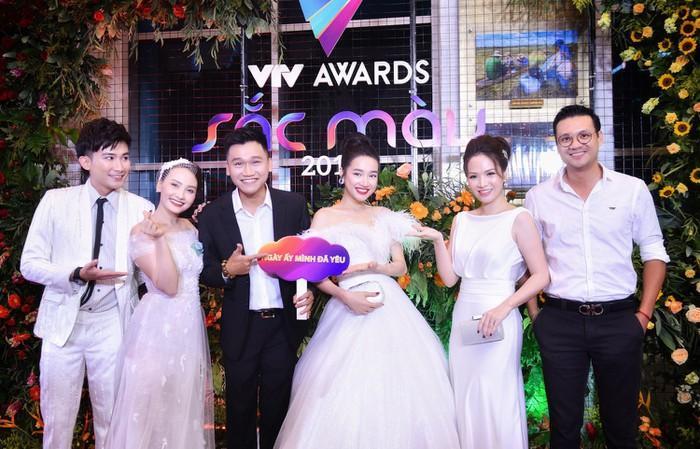 Nhã Phương, Bảo Thanh rạng rỡ trên thảm đỏ VTV Awards 2018-2