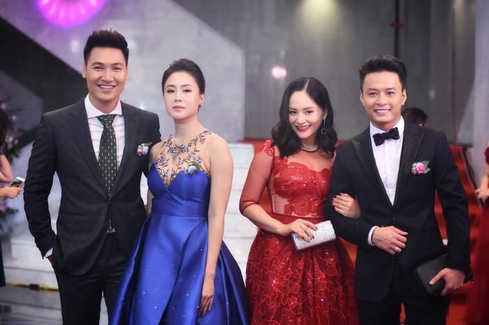 Nhã Phương, Bảo Thanh rạng rỡ trên thảm đỏ VTV Awards 2018-3