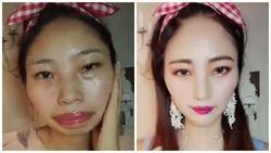 Cánh mày râu 'vỡ mộng' toàn tập khi xem clip make-up vi diệu của chị em