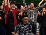 Trả lời sai, Lê Dương Bảo Lâm liên tục dọa tát Hari Won trên sóng truyền hình-1