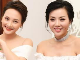 'Gái ngành Quỳnh búp bê' Thanh Hương cùng Bảo Thanh gây chú ý vì gương mặt khác lạ