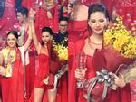 Quá khứ thi hoa hậu lạ đời của Bùi Quỳnh Hoa trước khi đoạt Quán quân Siêu mẫu Việt Nam 2018-11