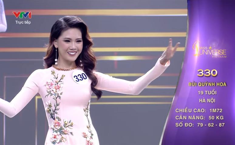 Quá khứ thi hoa hậu lạ đời của Bùi Quỳnh Hoa trước khi đoạt Quán quân Siêu mẫu Việt Nam 2018-8