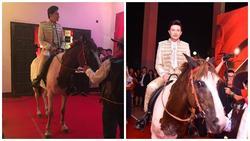 Hóa hoàng tử cưỡi ngựa lên thảm đỏ, giám khảo 'drama' nhất Siêu mẫu Việt Nam làm lố bị dân mạng 'ném đá'