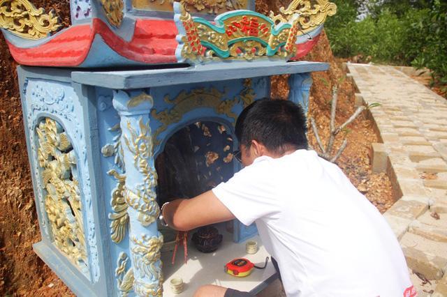 Quảng Trị:  Ba chàng trai trẻ tình nguyện lập nghĩa trang chôn cất các hài nhi xấu số-2