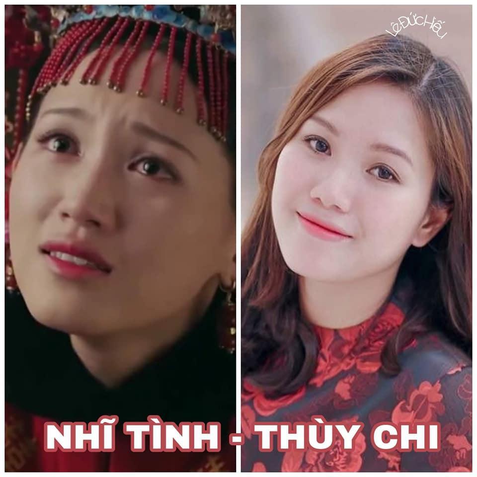 Cười ngất với loạt hình mỹ nhân Việt biến thành bản sao của dàn hậu cung Diên Hi Công Lược-5