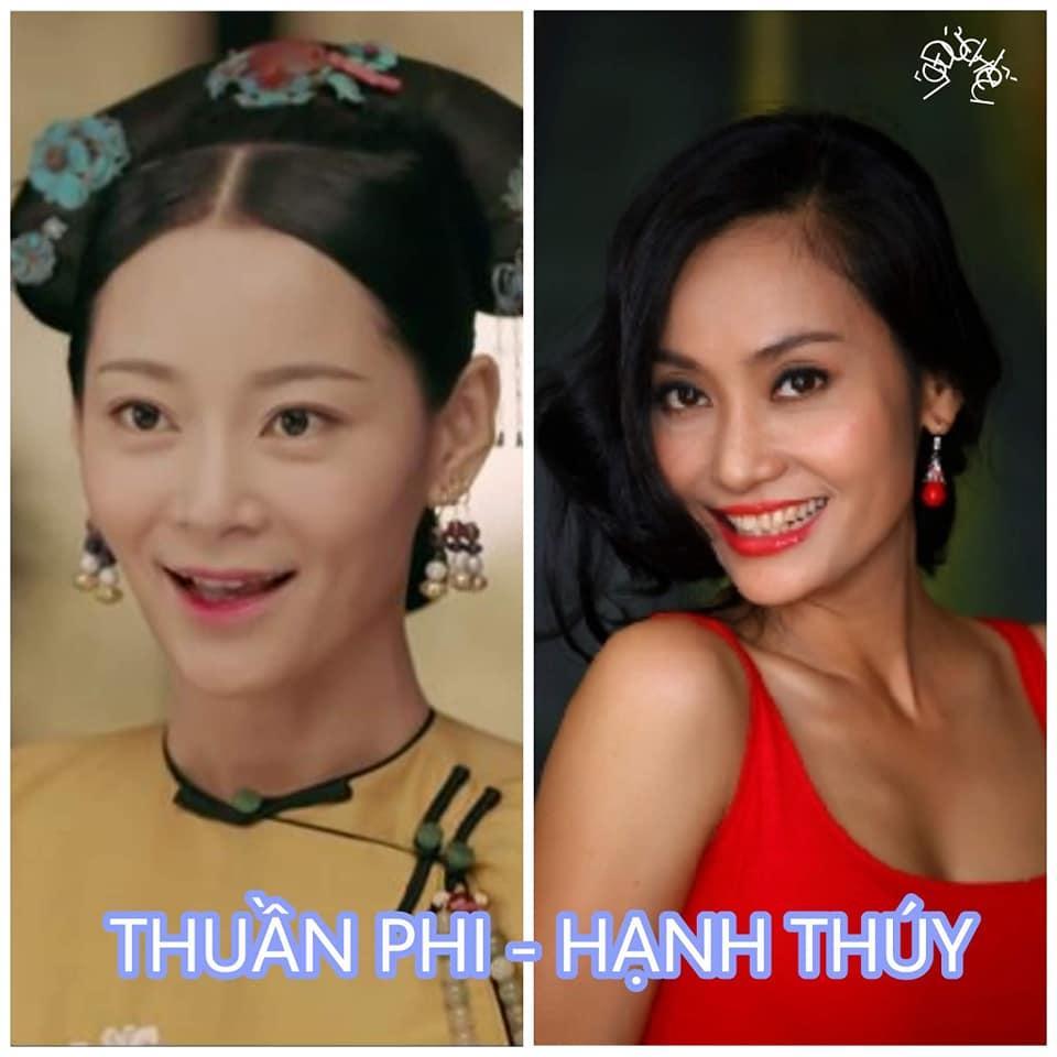 Cười ngất với loạt hình mỹ nhân Việt biến thành bản sao của dàn hậu cung Diên Hi Công Lược-4