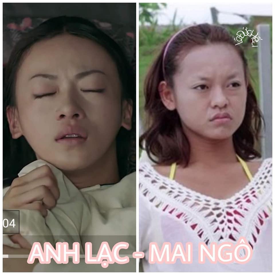 Cười ngất với loạt hình mỹ nhân Việt biến thành bản sao của dàn hậu cung Diên Hi Công Lược-3