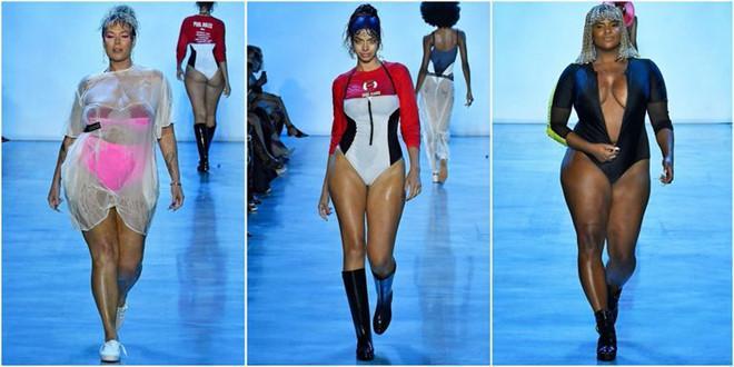 Người mẫu chống nạng, mẫu béo gây chú ý ở New York Fashion Week-2
