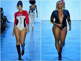 Người mẫu chống nạng, mẫu béo gây chú ý ở New York Fashion Week