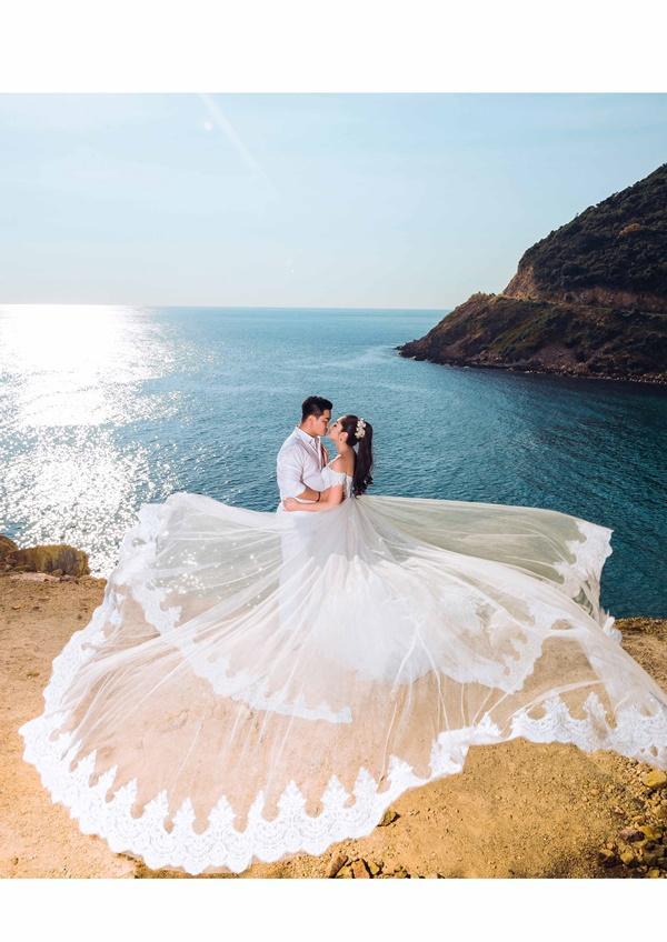 Ngắm trọn bộ ảnh cưới của Hoa hậu Đại dương Đặng Thu Thảo-1