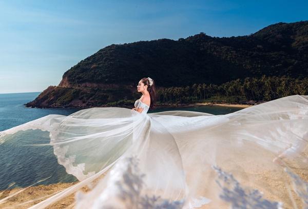Ngắm trọn bộ ảnh cưới của Hoa hậu Đại dương Đặng Thu Thảo-2