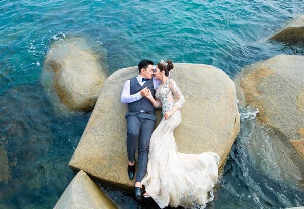Ngắm trọn bộ ảnh cưới của Hoa hậu Đại dương Đặng Thu Thảo-5