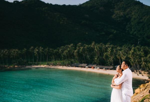 Ngắm trọn bộ ảnh cưới của Hoa hậu Đại dương Đặng Thu Thảo-9