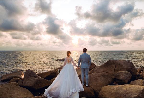 Ngắm trọn bộ ảnh cưới của Hoa hậu Đại dương Đặng Thu Thảo-11