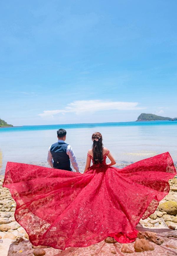 Ngắm trọn bộ ảnh cưới của Hoa hậu Đại dương Đặng Thu Thảo-13
