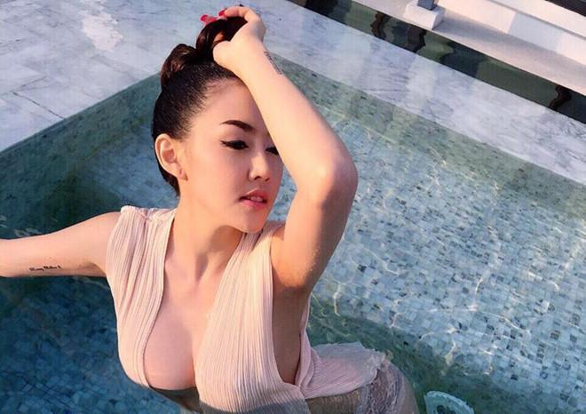 Người đẹp Thái Lan uống thuốc diệt cỏ, nhảy lầu tự sát-2