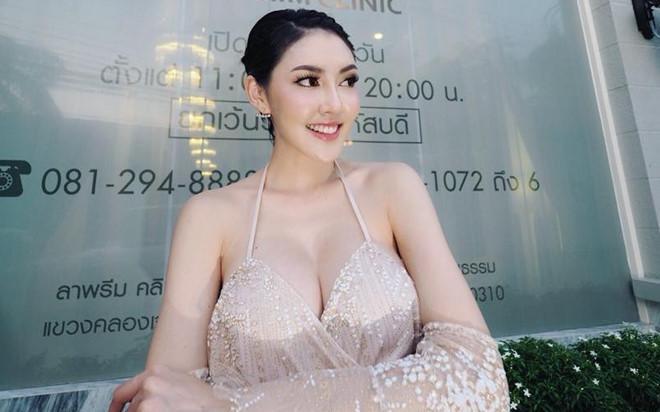 Người đẹp Thái Lan uống thuốc diệt cỏ, nhảy lầu tự sát-1