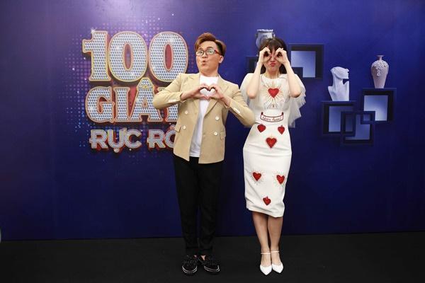 Hari Won mang dép lê tập nhảy khi hát hit của T-ara-6