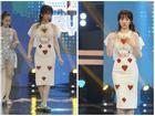 Hari Won mang dép lê tập nhảy khi hát 'hit' của T-ara