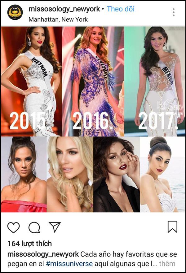 Đã 3 năm sau Miss Universe 2015, fans quốc tế vẫn khóc ròng vì Phạm Hương trượt vỏ chuối-8