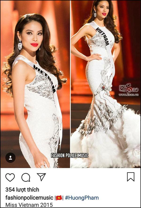 Đã 3 năm sau Miss Universe 2015, fans quốc tế vẫn khóc ròng vì Phạm Hương trượt vỏ chuối-10