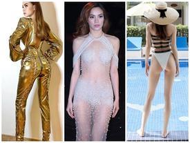Mặc quần khoét vòng 3 đã là gì, Hồ Ngọc Hà còn đốt mắt người nhìn với loạt thiết kế 'hở đơn hở kép' sexy hơn nhiều