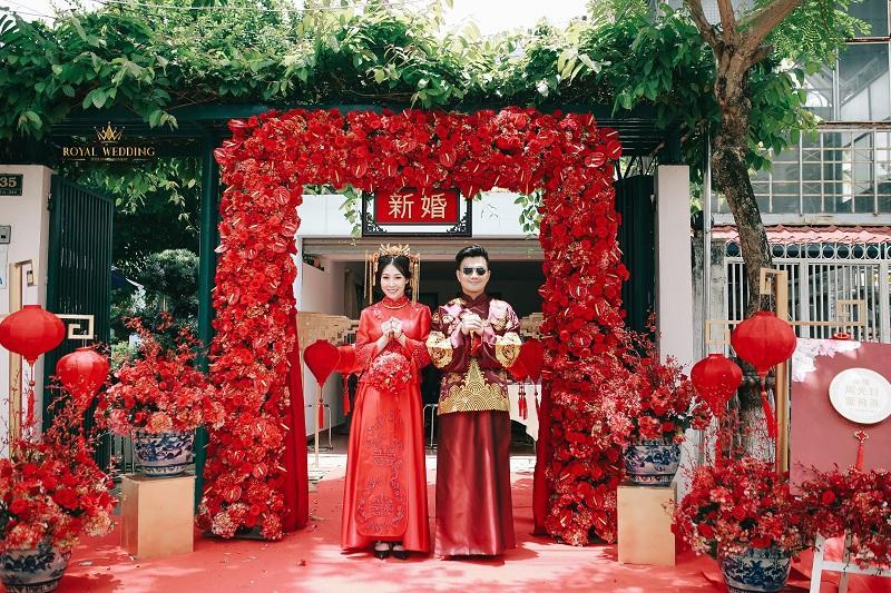 Bộ ảnh ăn hỏi độc đáo của cặp đôi người Việt gốc Hoa gây sốt mạng xã hội-4