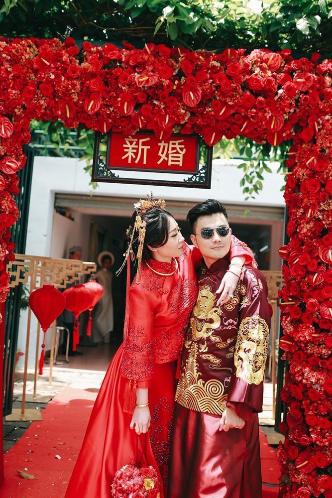Bộ ảnh ăn hỏi độc đáo của cặp đôi người Việt gốc Hoa gây sốt mạng xã hội-5
