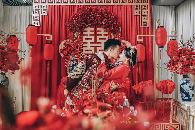 Bộ ảnh ăn hỏi độc đáo của cặp đôi người Việt gốc Hoa gây sốt mạng xã hội-6