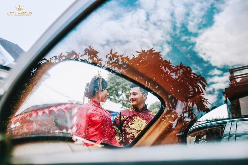 Bộ ảnh ăn hỏi độc đáo của cặp đôi người Việt gốc Hoa gây sốt mạng xã hội-7
