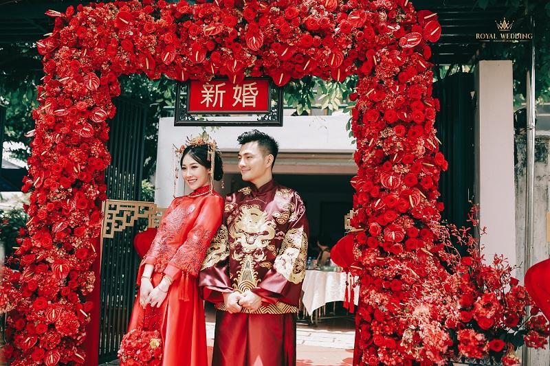 Bộ ảnh ăn hỏi độc đáo của cặp đôi người Việt gốc Hoa gây sốt mạng xã hội-9