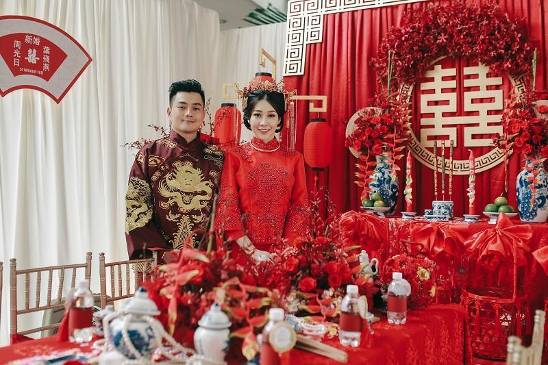 Bộ ảnh ăn hỏi độc đáo của cặp đôi người Việt gốc Hoa gây sốt mạng xã hội-10