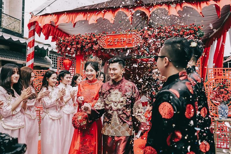 Bộ ảnh ăn hỏi độc đáo của cặp đôi người Việt gốc Hoa gây sốt mạng xã hội-11