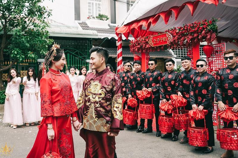 Bộ ảnh ăn hỏi độc đáo của cặp đôi người Việt gốc Hoa gây sốt mạng xã hội-12