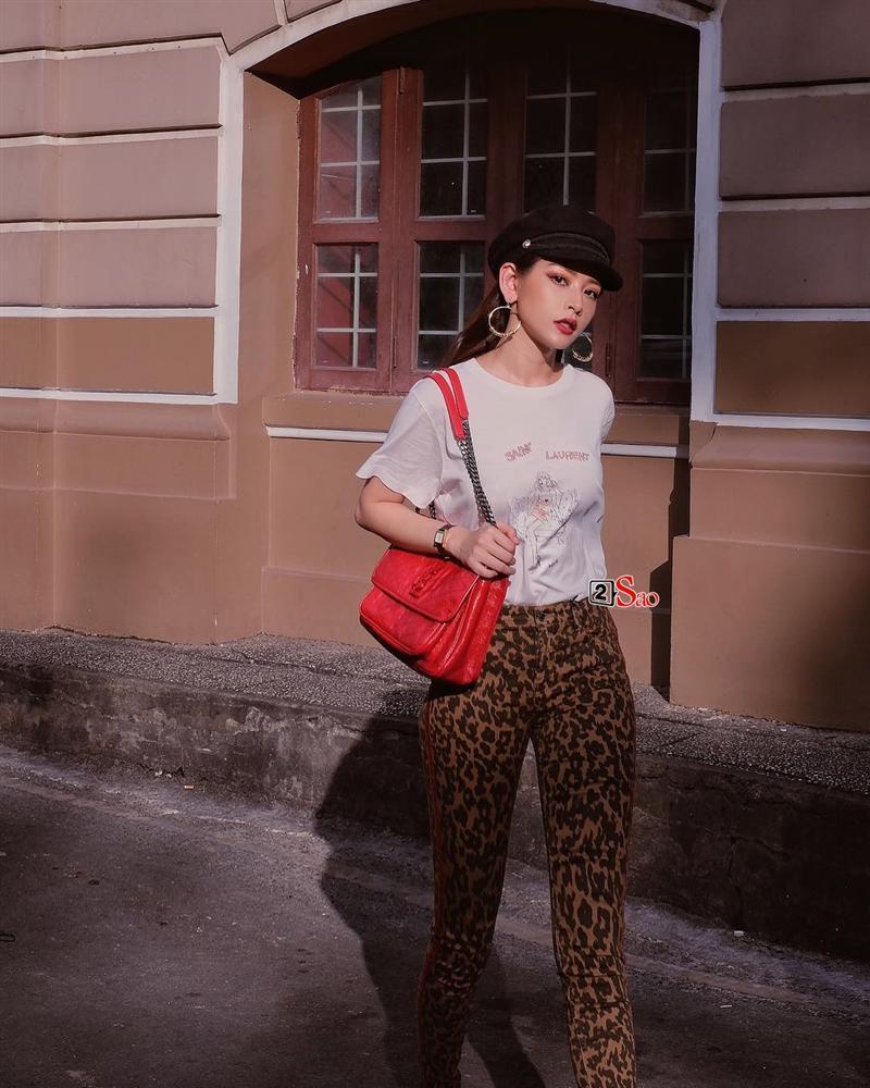 Tóc Tiên, Minh Tú, Chi Pu cùng hàng loạt tín đồ thời trang điên đảo trở lại với họa tiết da báo-4