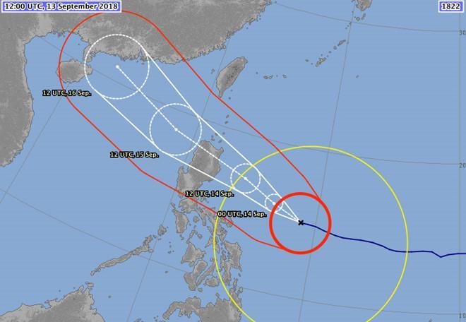 Siêu bão Mangkhut tiến nhanh về Biển Đông-2