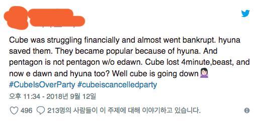 E'Dawn - HyunA bị đuổi khỏi Cube: Cộng đồng mạng thế giới xôn xao, fan Hàn Quốc vỗ tay hưởng ứng-6