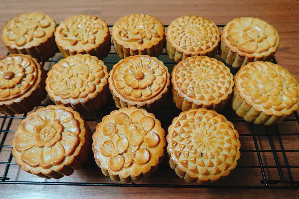 Cách làm bánh trung thu nhân thập cẩm truyền thống-6