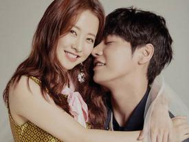 Chênh lệch chiều cao tới 29cm, Park Bo Young vẫn đẹp đôi hết nấc bên 'bạn trai'