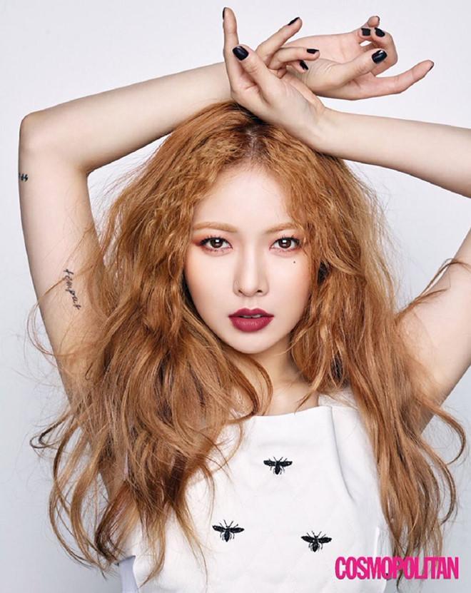 Vì sao HyunA và công ty Cube bị gửi vòng hoa chế giễu-3
