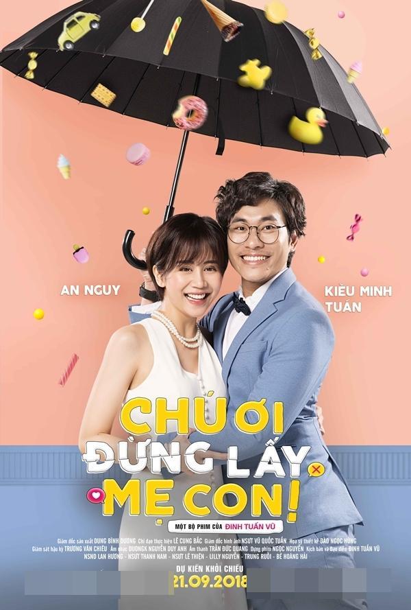 Chú Ơi Đừng Lấy Mẹ Con: Bộ phim khiến An Nguy - Kiều Minh Tuấn vì tình yêu mà bất chấp bão tố-1