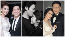 Sao Việt 'phim giả tình thật': Người cập bến hạnh phúc, kẻ hắt hủi tổn thương