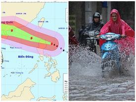 Dự báo thời tiết 15/9: Siêu bão vào biển Đông, gần 400.000 quân ứng trực