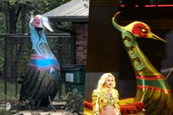 Fan bàng hoàng phát hiện: Britney Spears tái chế đạo cụ concert thành… hàng trang trí sân vườn-6