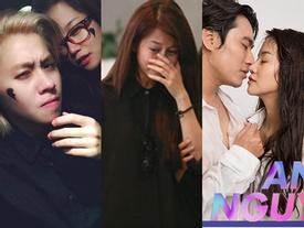 Trước khi thú nhận 'cắm đầu' yêu Kiều Minh Tuấn, hot vlogger An Nguy cũng từng đẫm lệ đường tình