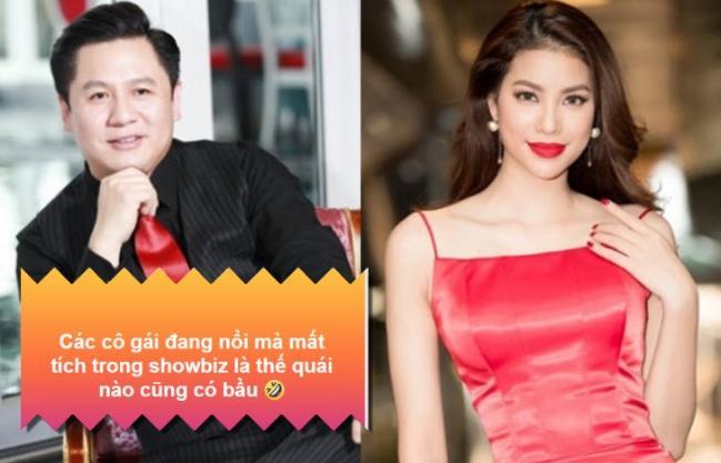 Pha Lê ám chỉ Phạm Hương có bầu, qua Mỹ sinh con?-1