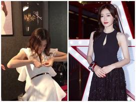 Tần Lam 'Diên Hi công lược' tự khâu váy vì sợ lộ vòng một