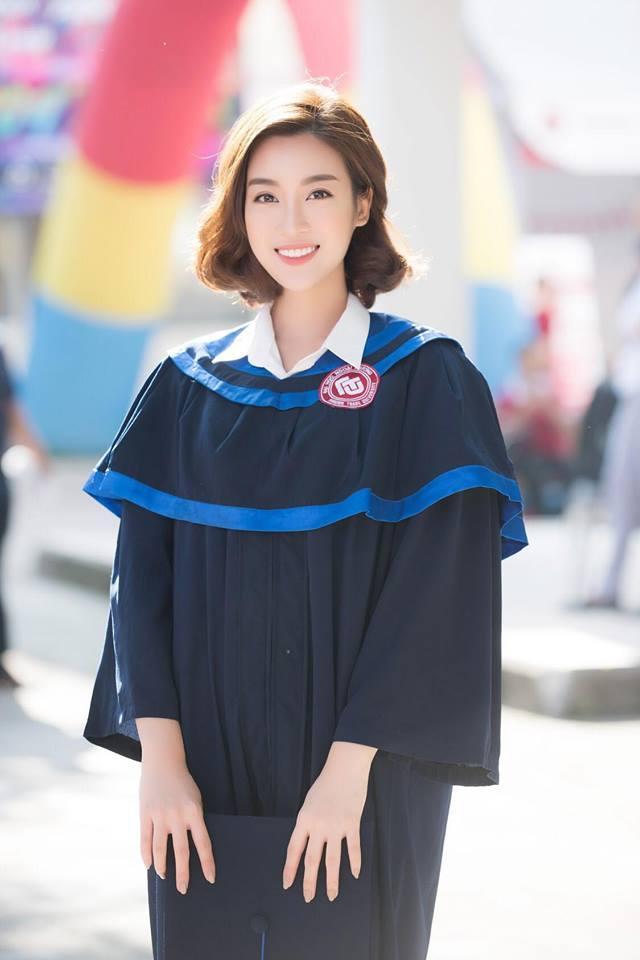 Bá đạo như Đỗ Mỹ Linh: Đã photoshop ảnh tốt nghiệp đại học lại còn báo cho cả thiên hạ biết-1